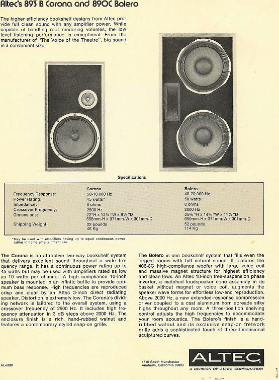 Altec Lansing 902-8A | Audiokarma Home Audio Stereo Discussion Forums
