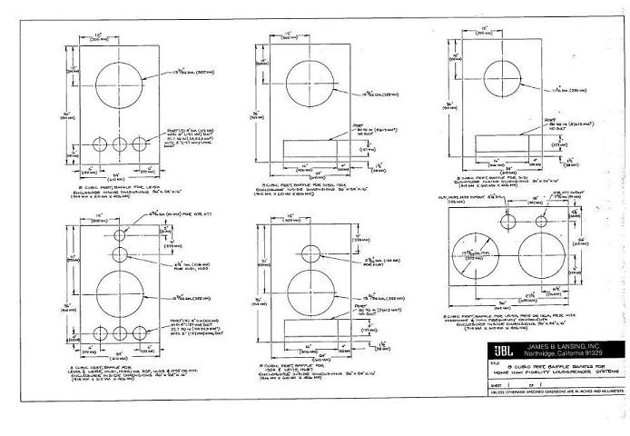 Jbl Speaker Cabinets Plans Pdf Woodworking