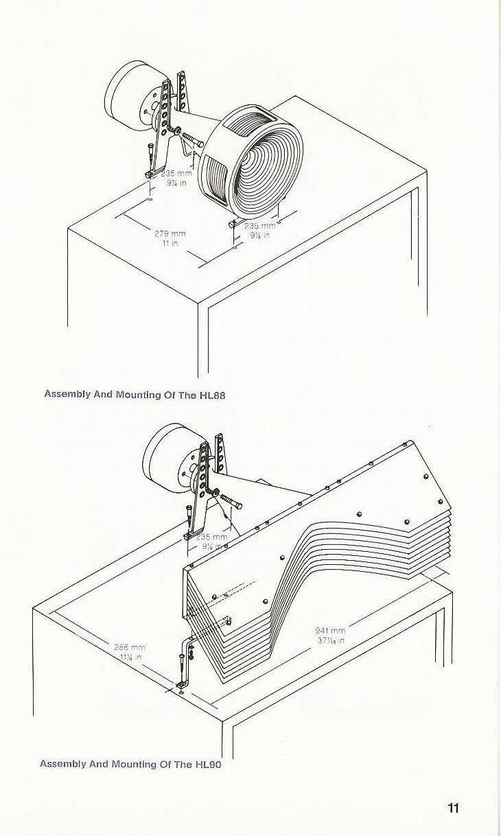 JBL 1980 Loudspeaker Component Series Instruction Manual