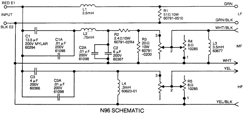 values on resistors in lpad circuit l96 attached images