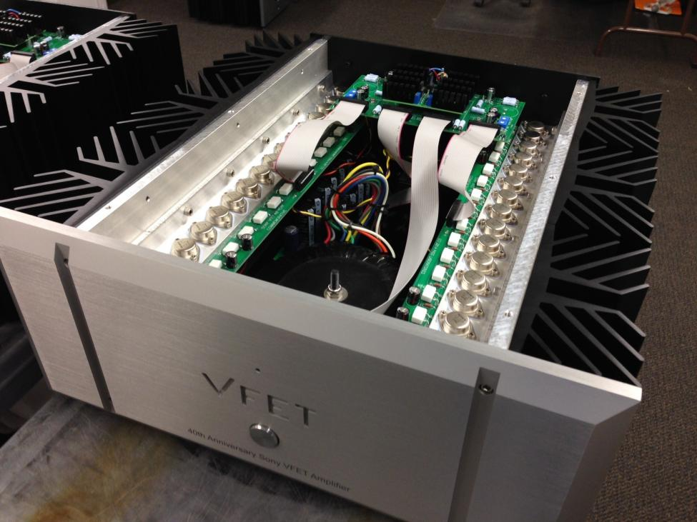 The 40th anniversary sony vfet amplifier from pass labs