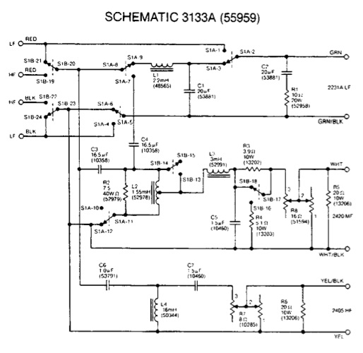 how do i biamp my 4333a here s the schematic attached images attached images