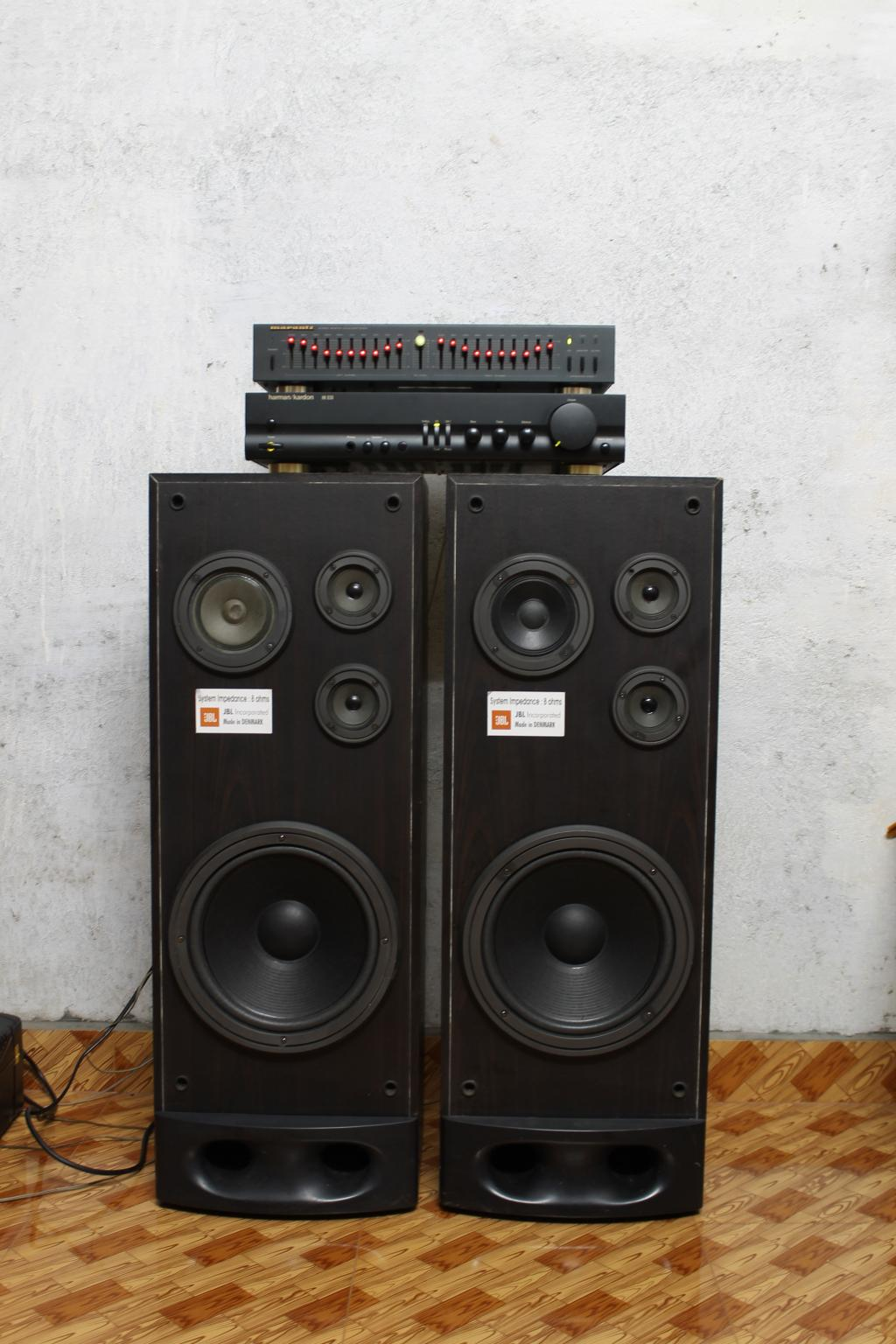 Anyone Can identify this JBL vintage tower speaker ?