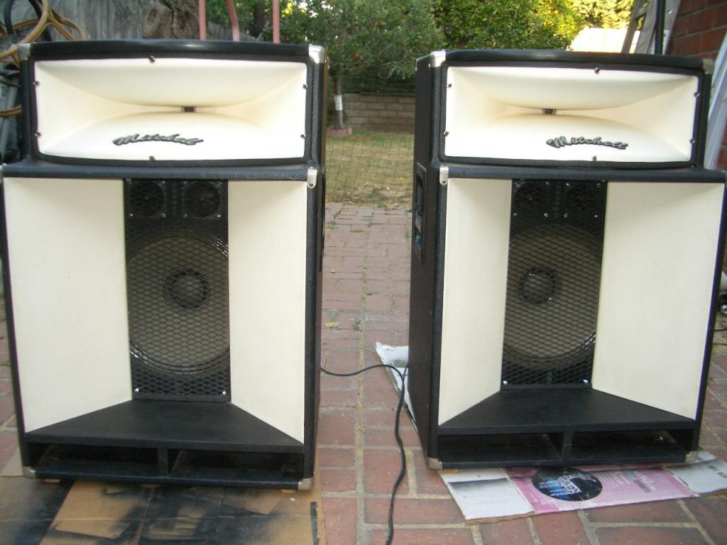 Info on Mitchell PA speakers?